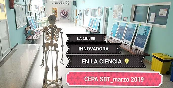 Exposición «La mujer , Innovadora en la ciencia»