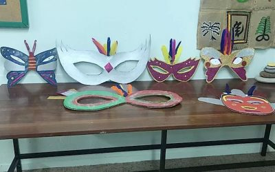 Llegó el Carnaval al Castillo del Romeral