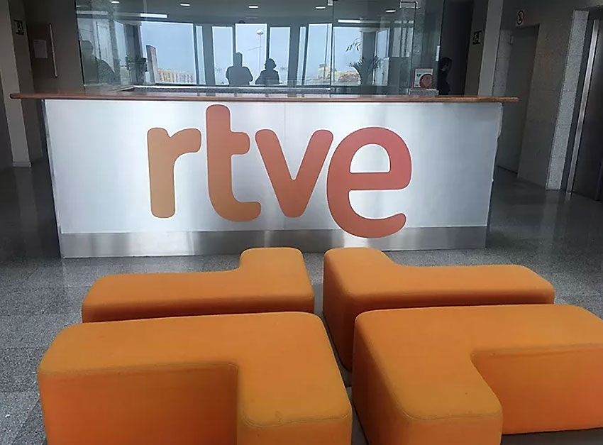 Visita a TVE-Canarias