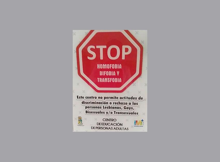 STOP Homofobia, Bifobia y Transfobia