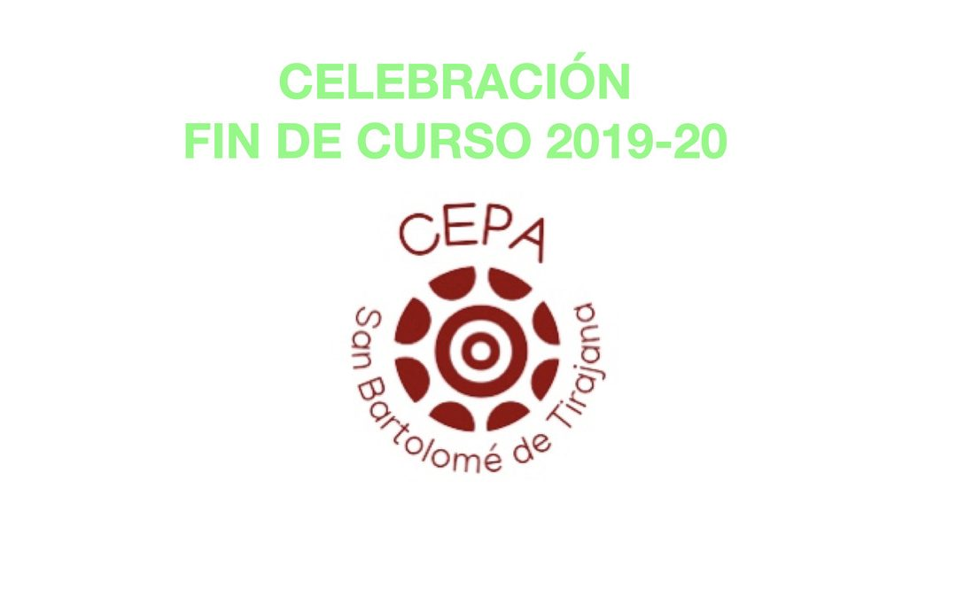 Celebración final de curso 2019-20