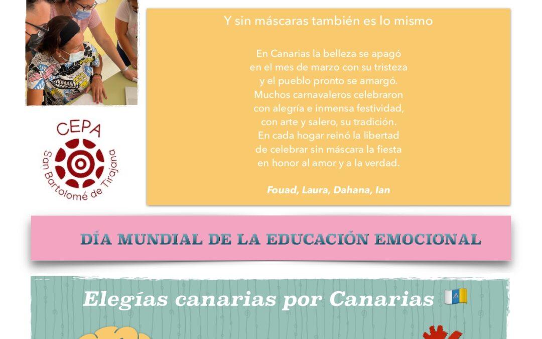 ELEGÍAS CANARIAS POR CANARIAS