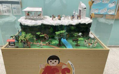 Playmobil y la mitología griega  en el CEPA San Bartolomé de Tirajana