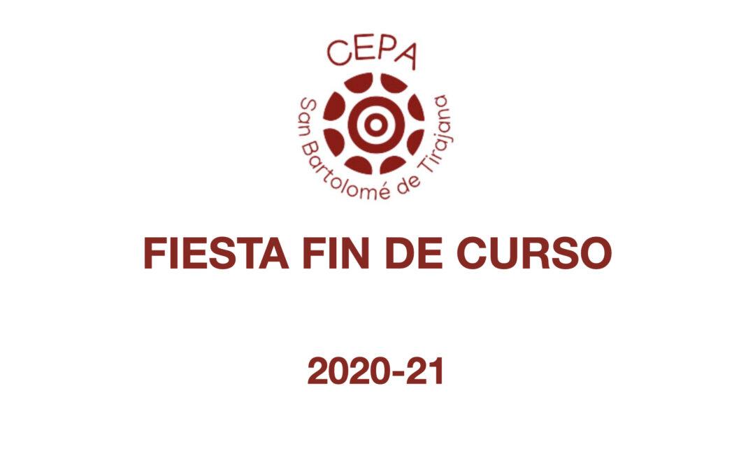 FIESTA FIN DE CURSO 2021
